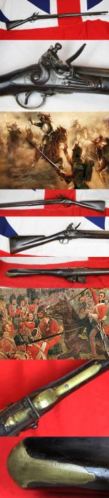 A Late 18th Century 'Brown Bess' Tower of London Musket